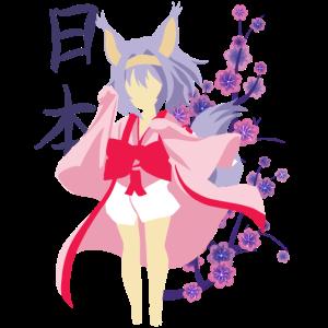 Anime Cat Girl Kawaii Girl Japanisch Anime