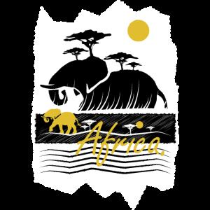 AFRICA - GELB