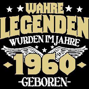 Jahrgang 1960 Geburtstag Geschenk 60 Jahre