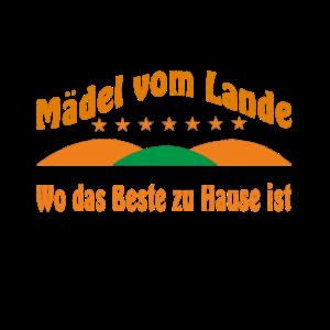 Maedel vom Lande Berge Sterne Wo das beste zu Haus