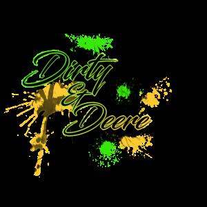 Dirty and Deere für Helle Kleidungsstücke