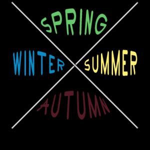 Das X in vier Jahreszeiten