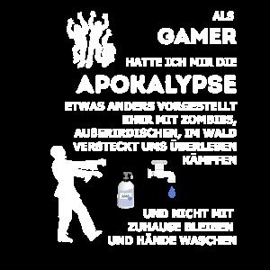 Gamer Zombie Apokalypse Fun Spruch