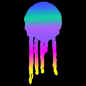Bunter Farbklecks