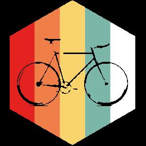 Cool Retro Fahrrad