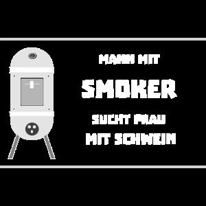Mann mit Smoker, sucht Frau mit Schwein