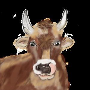 2020 Kuh Kühe Ochs Airbrush Corona Gesichtsmaske