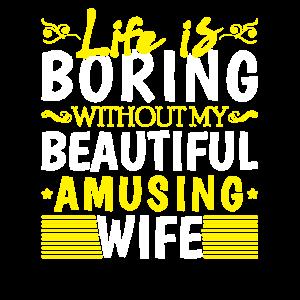 Lustiges Hemd für Ehemann