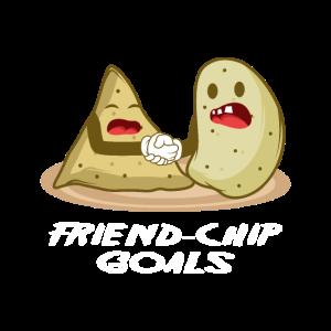 Friend-Chip goals Foodie und freundliche Person Gi