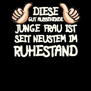 Rentnerin Rente Lustig Spruch Ruhestand Rentner