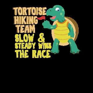 Geschenk für Wanderer Bergsteiger Schildkröte Hiki