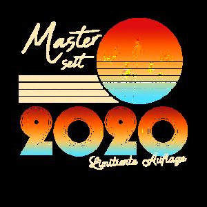 Master 2020 Masterarbeit bestanden lustiger Spruch