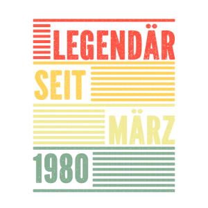 Legendaer seit Maerz 1980