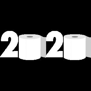 2020 Toilettenpapier Corona Covid 19 Viruskrise