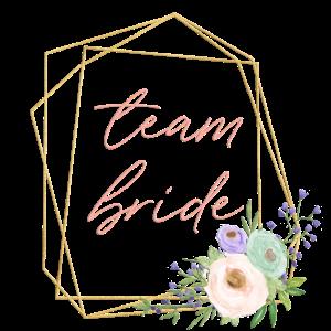 Blumen Geometrisch Team Bride 2
