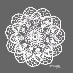 Granny´s Flower, valkoinen