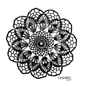 Grannys flower, musta