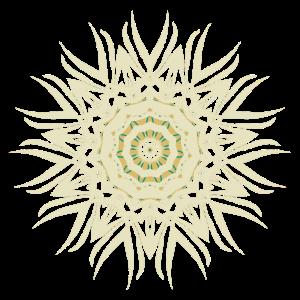Mandala beige
