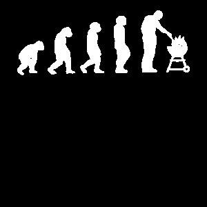 Retro Evolution Grillen | Party Grillfan BBQ Barbe
