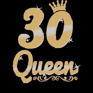 30 Birthday Queen - 30 Jahre Geburtstag