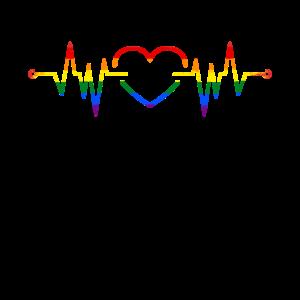 LGBTQ Herz
