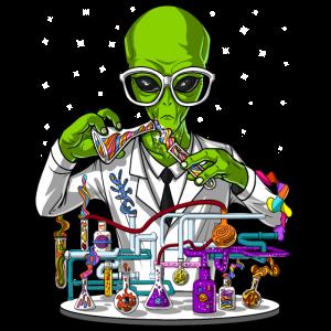 Alien Chemistry Scientist