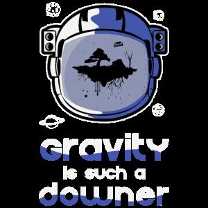 Schwerkraft Gravitation Lustig