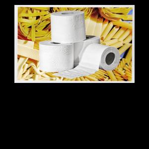 Toilettenpapier und Nudeln in der Krise