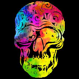 Swirly Skull (bunt)