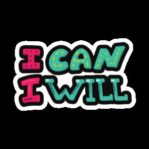 Ich kann ich werde