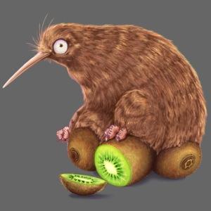 Kiwi auf Kiwis