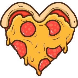 00057 Pizza corazón