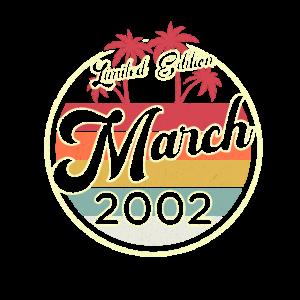 Vintage März 2002 Fun 18. Geburtstags Geschenk