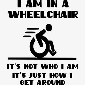 Ik zit in een rolstoel maar dat is niet wie ik ben