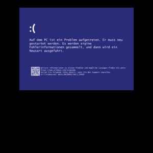 Bluescreen Programmierer Computer Gamer Geschenk