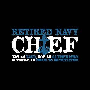 Marine-Chef in Rente