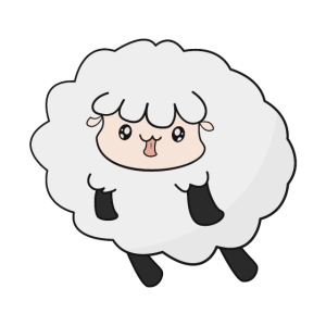 Kawaii Woken Schaf