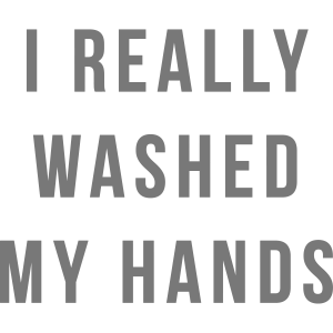 WASHED HANDS 2020