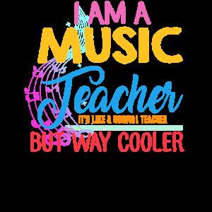 Ich bin Musiklehrer
