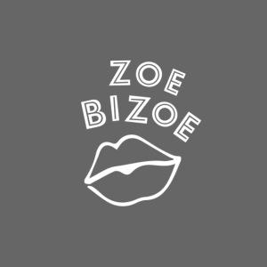 ZOE logo KUS WHITE