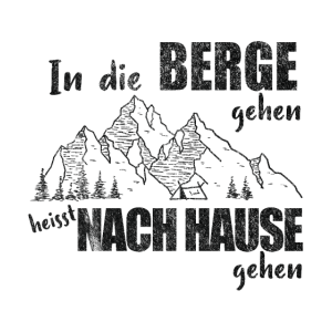 In die Berge Natur Wandern Outdoor Wanderer Alpen