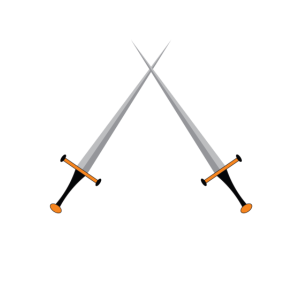 Zwei Ritter Schwerte mittelalter two knight Sword
