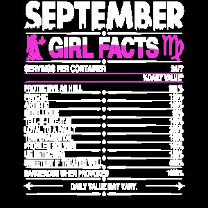 September Jungfrau Mädchen Fakten
