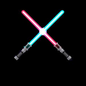 Two Laser Swords Light Swords Licht Schwert