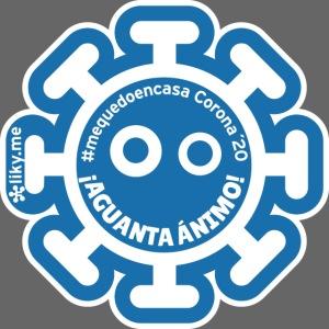 Corona Virus #mequedoencasa blu