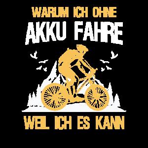 Fahrrad Spruch Radfahrer Fahrradfahrer Geschenk
