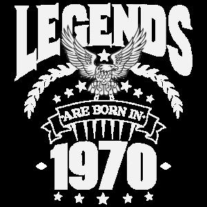 Legenden wurden 1970 geboren 50 Jahre Geschenk