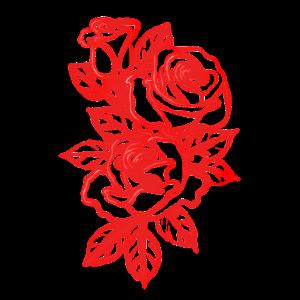 Roses Shirt Flowers Aesthetic Retro stylish