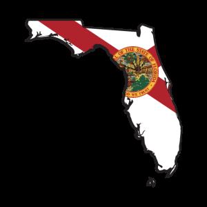 Florida Map America Roots USA Amerikanischer Staatsbürger