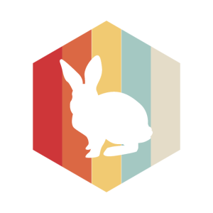 Retro Bunny Rabbit